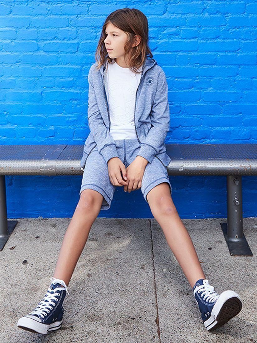 Converse Boys' Joggers | Navy at John Lewis & Partners