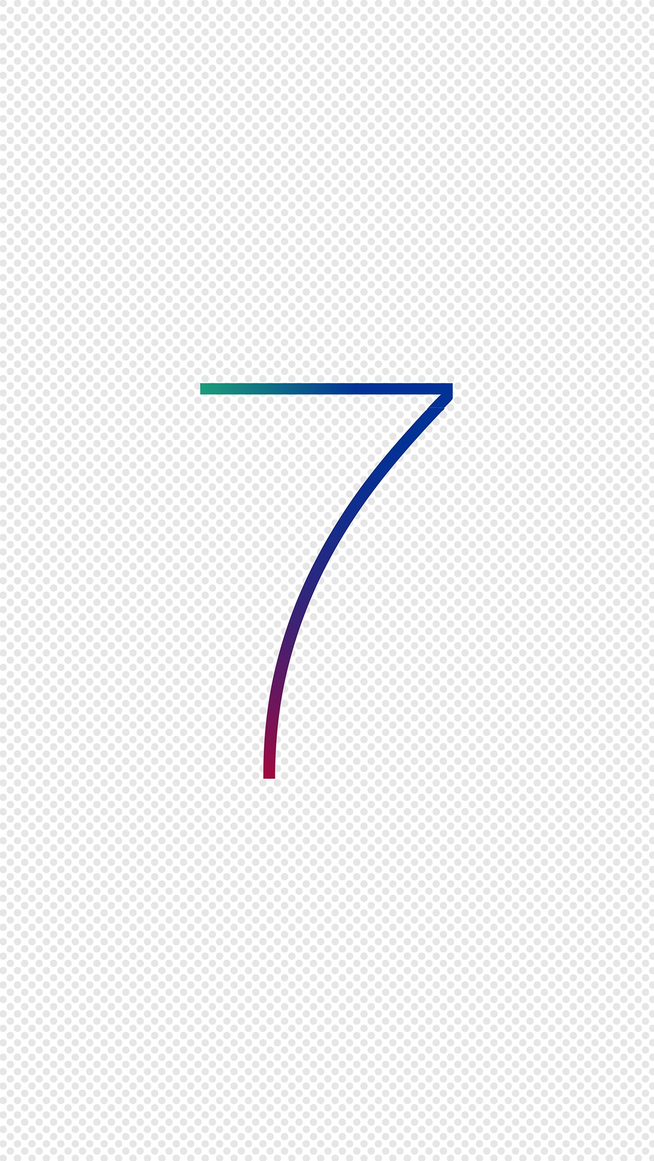 iPhone 5 Wallpaper  Apple iOS 7 WWDC 2013 Edition