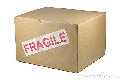 Label fragile boxes accordingly  If you're using a black