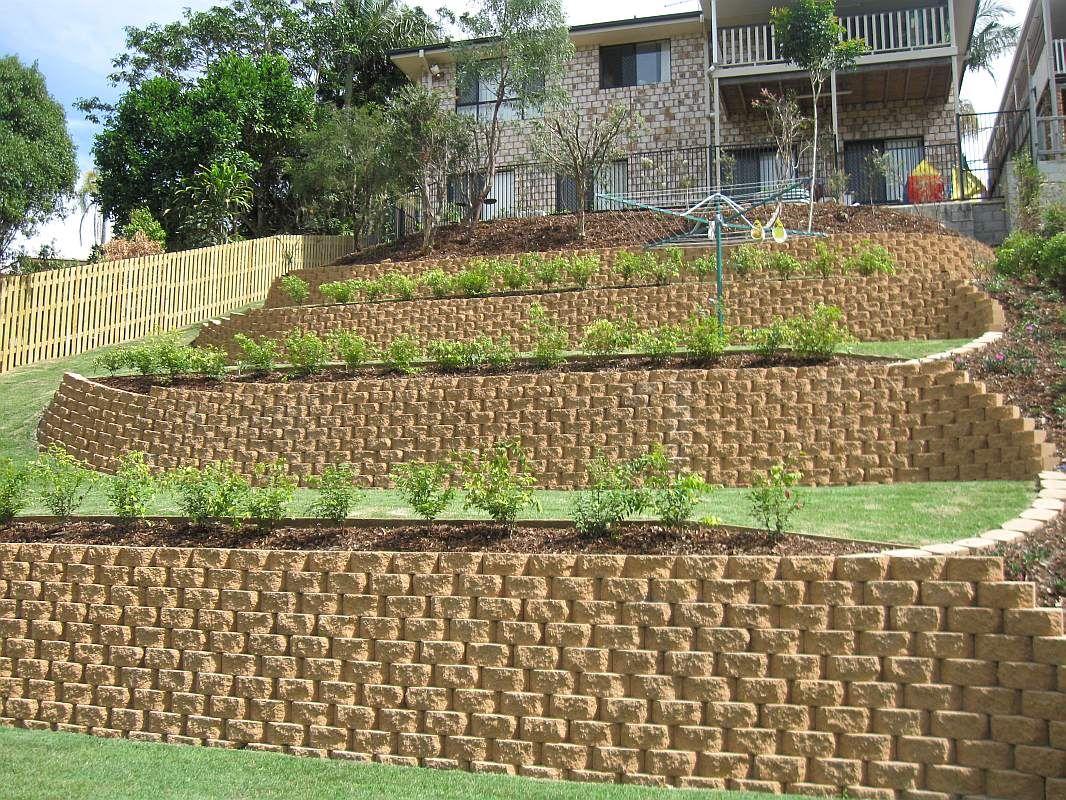 Garden Designs For Sloping Blocks PDF | Garden design ... on Garden Ideas For Sloping Gardens id=45625