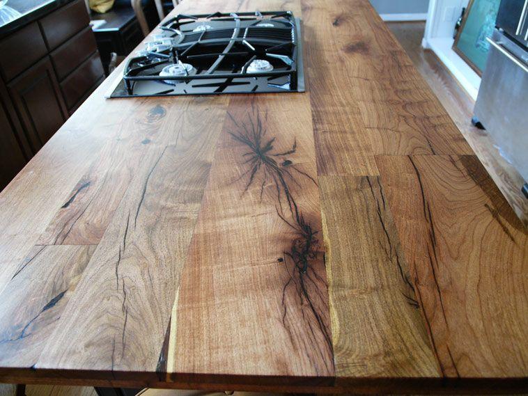 Grainy Wood Countertop Wood Countertops Wood Countertops