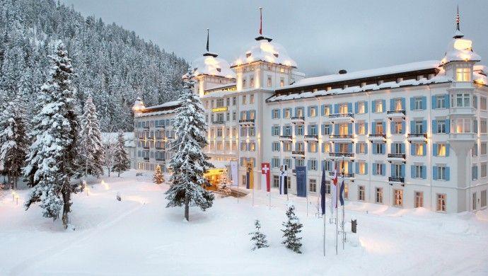 Kempinski Grandhotel des Bains: In historic St. Mortiz, the Kempinski Grand Hotel des Bains is a destination for ski lovers.