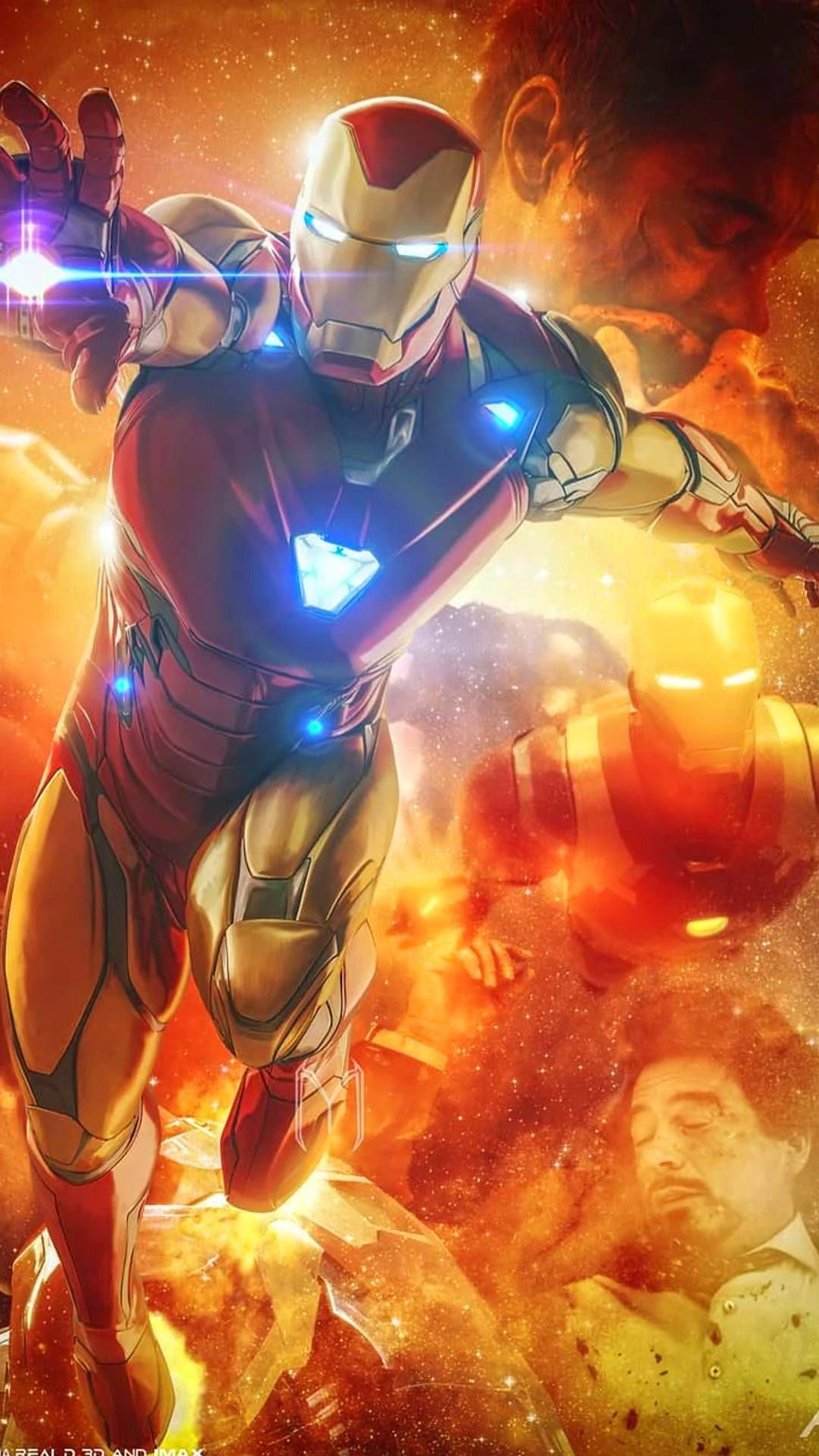 The Iron Man Endgame Fate Concludes After A 10 Year Journey Iron Man Avengers Marvel Comics Wallpaper Iron Man Art
