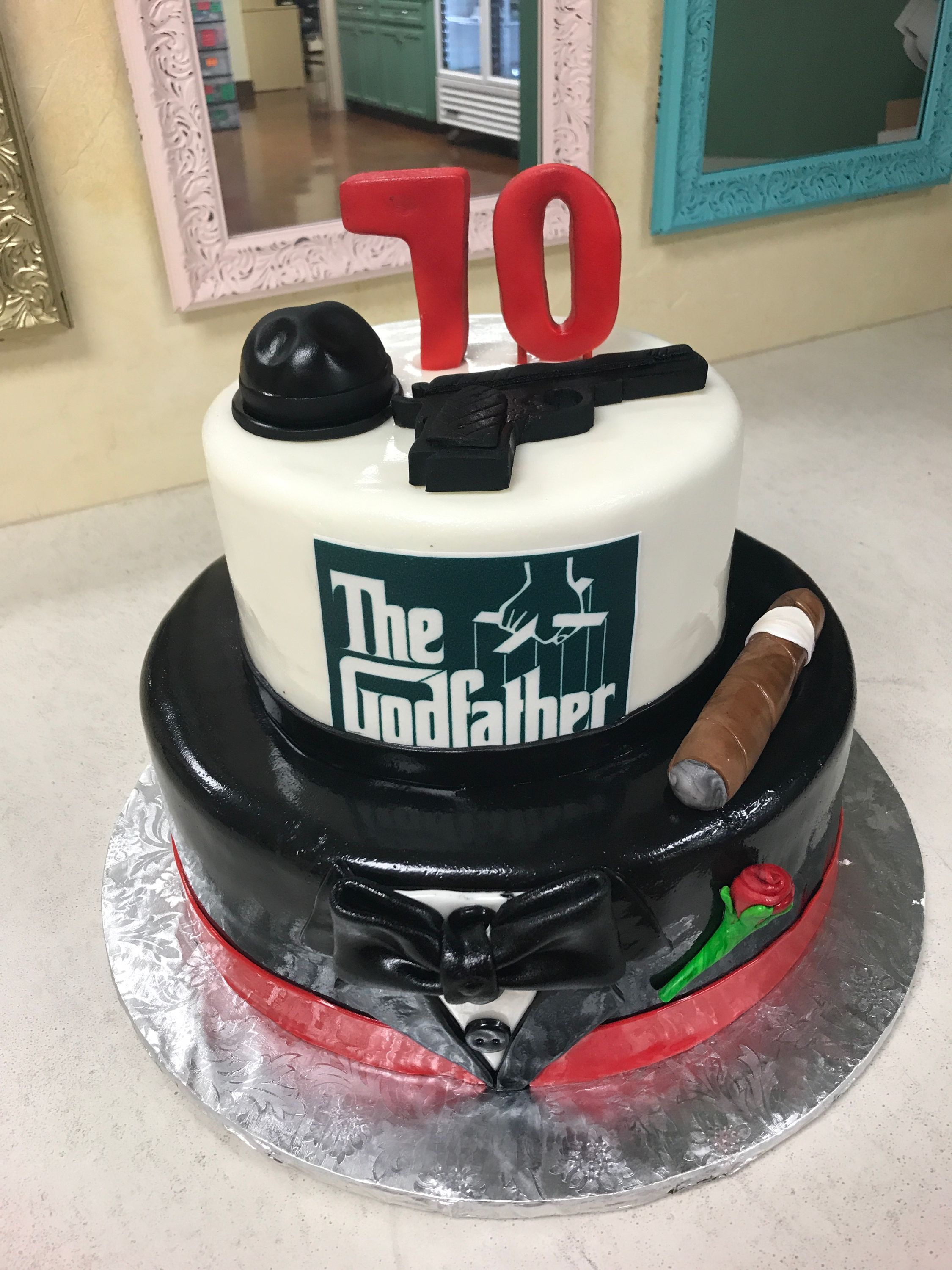 GODFATHER CAKE By EL BOLILLO BAKERY In HOUSTON TX Elbolillo Bolillo Houston Godfather Godfathercake Cake Birthdaycake Tresleches Panaderia