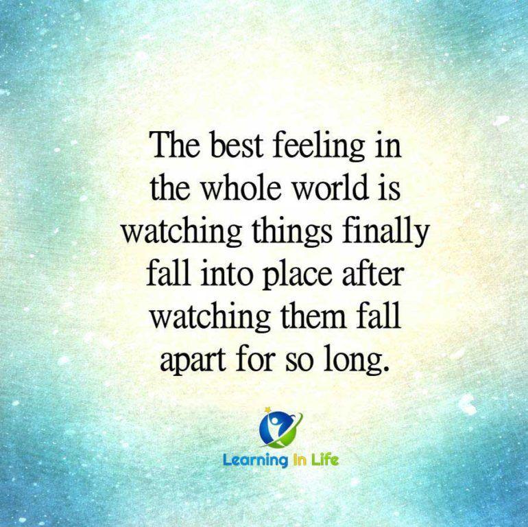 Feel Good, Feelings, Good Things