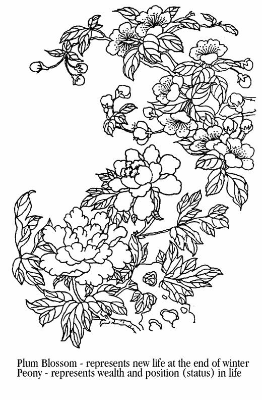 Pin By Dru Paul On Coloring Tree Coloring Page Flower Coloring