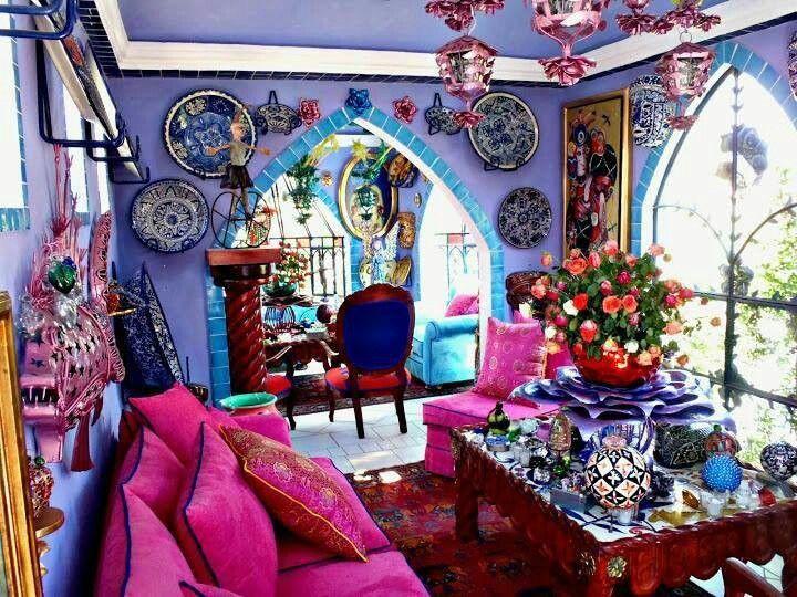 Pin von liza fishman auf for my home kitchen boh me for Sofa orientalischer stil