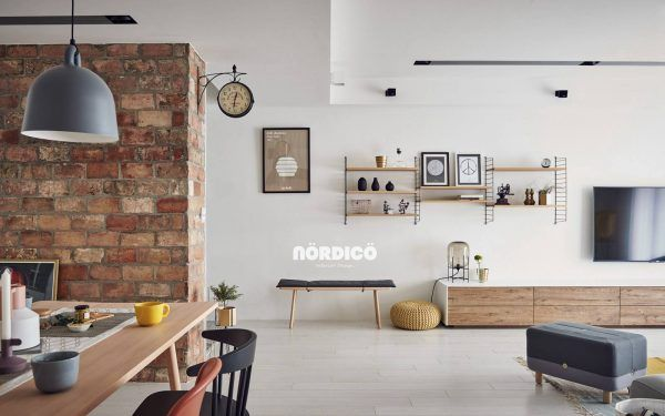 Nordic decor inspiration in two colorful homes