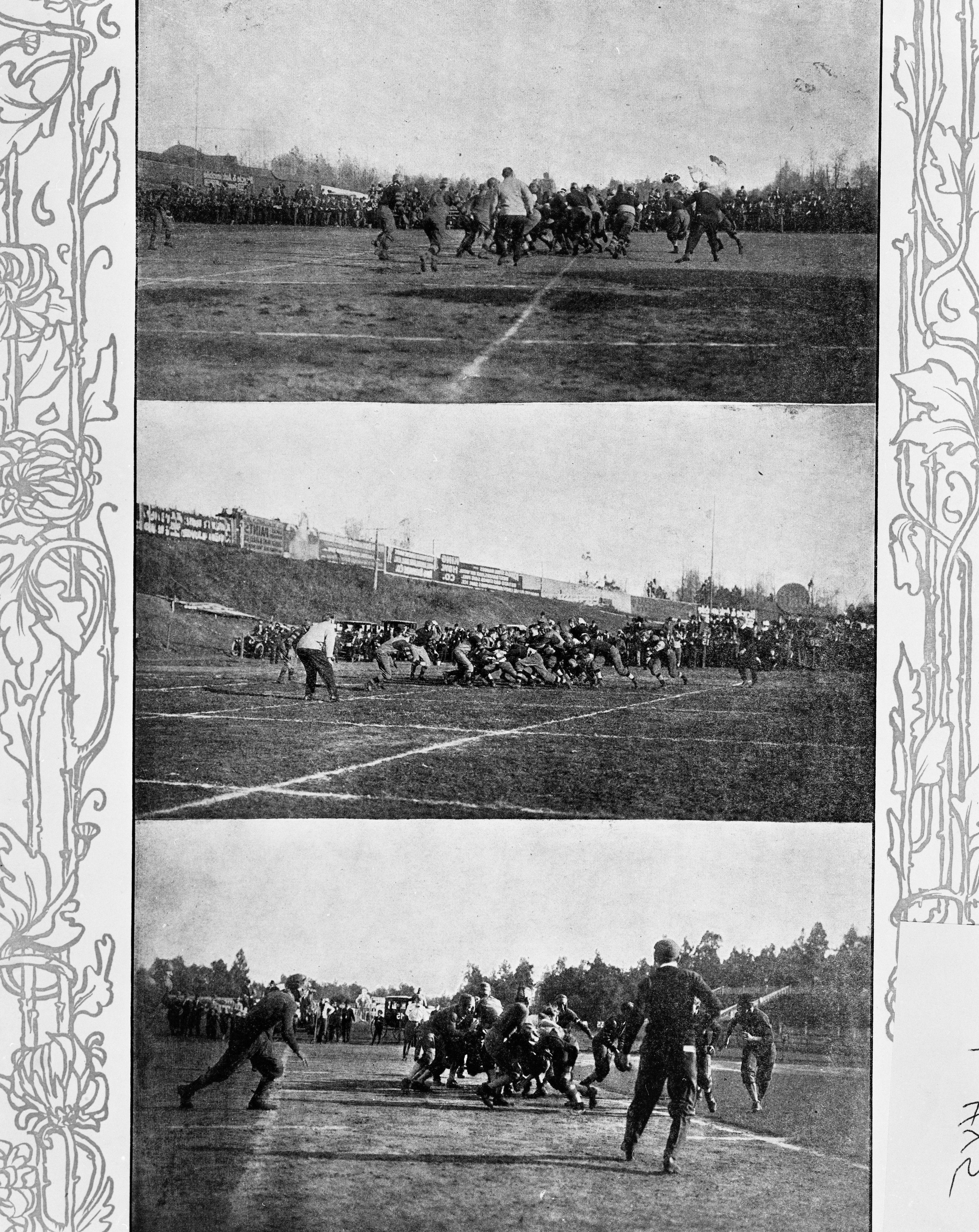 Tech Football photo from 1909 Tech