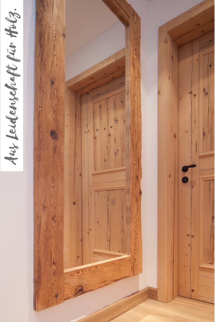 spiegel und t re aus altholz fichte tanne geb rstet deko in 2019 holz holzboden und haus. Black Bedroom Furniture Sets. Home Design Ideas