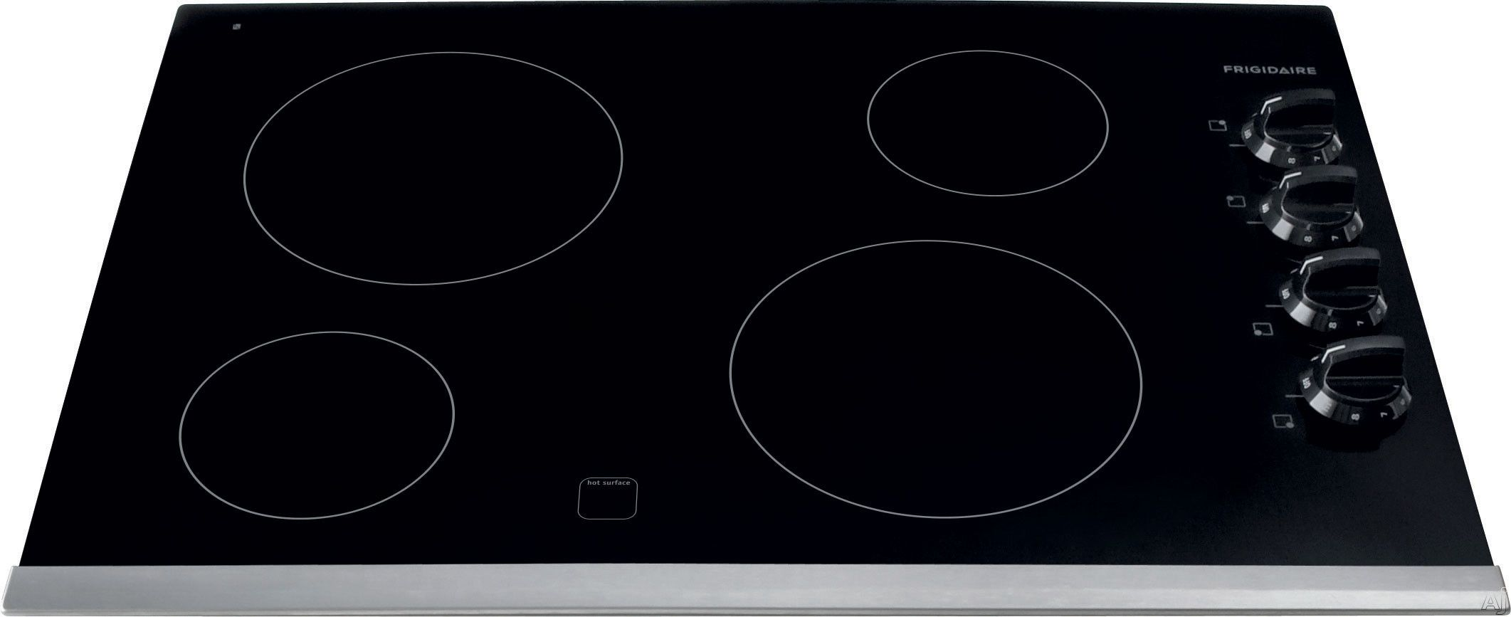 Frigidaire Ffec3024ps 30 Inch Electric Cooktop With 4 Elements Ceramic Glass Surface 2500w Element Hot Surface Indicator Ready Select Controls Color Coord Electric Cooktop Cooktop Cool Things To Buy