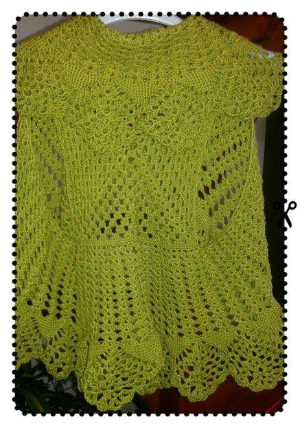 Crochet bolero circular   Free Pattern   Pinterest   Blusas de ...