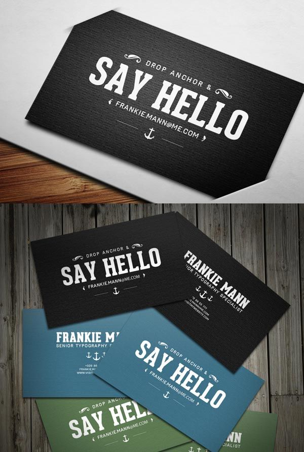 Modern Business Cards Design - Nice call to action | BRAND ...