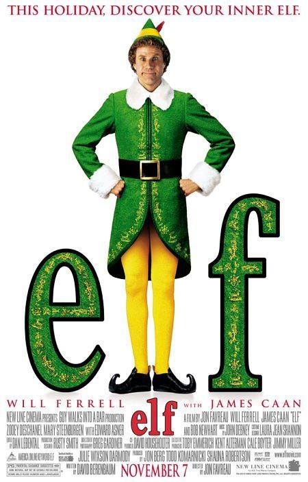 Elf. One of the best Christmas movies of all time!!