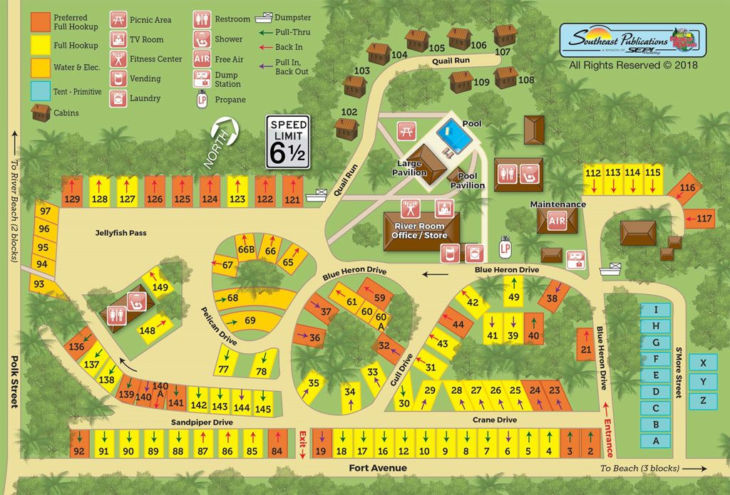 River S End Campground In Tybee Island Ga Offers Full Hook Up Rv Sites Tent Pop Up Sites And Camping Cabins A Tybee Island Camping Tybee Island Campground