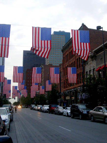 Flags On Larimer Street Denver Colorado Co Photo Colorado Travel Around The World United States Of America