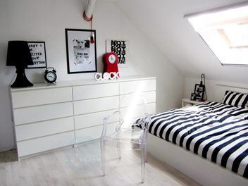 4 drawer malm dressers in a row.   Ikea bedroom, Malm