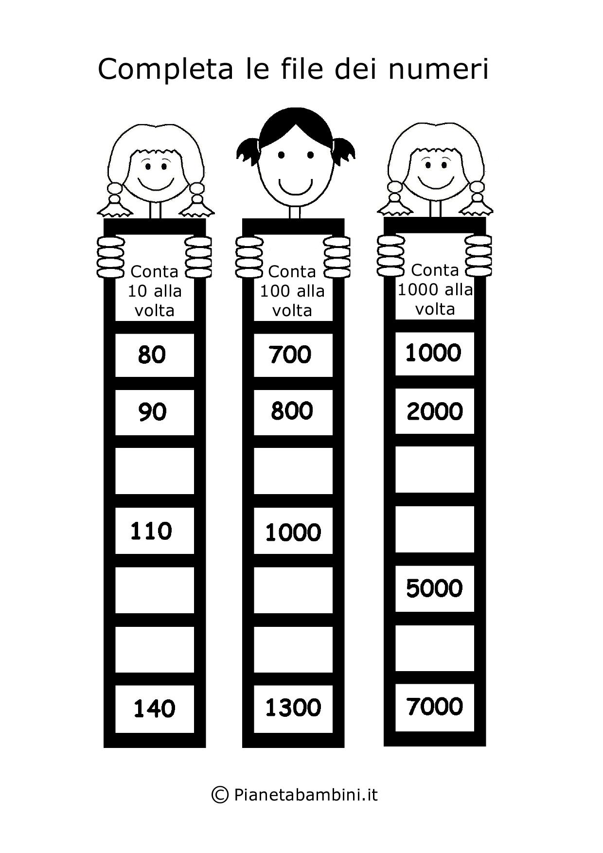 Qui trovate tanti giochi di matematica per bambini di 6 7 for Cucinare per bambini 7 anni