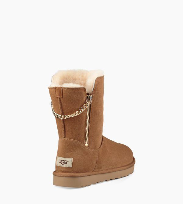 4053f349270 Women s Share this product Classic Short Sparkle Zip Boot