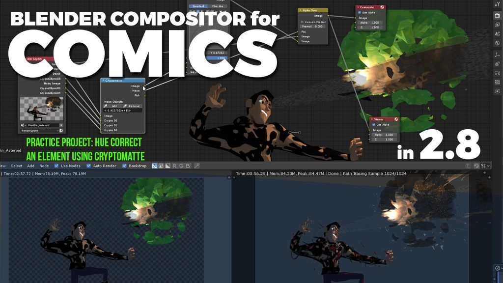 Cryptomatte A Brief History About Compositing In Blender 3d