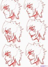 Anime Face Expressions Side   Anime Face Expressions Side
