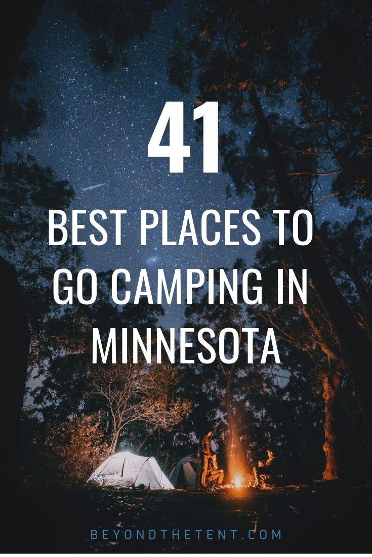 Photo of 41 Of The Best Places To Go Camping In Minnesota