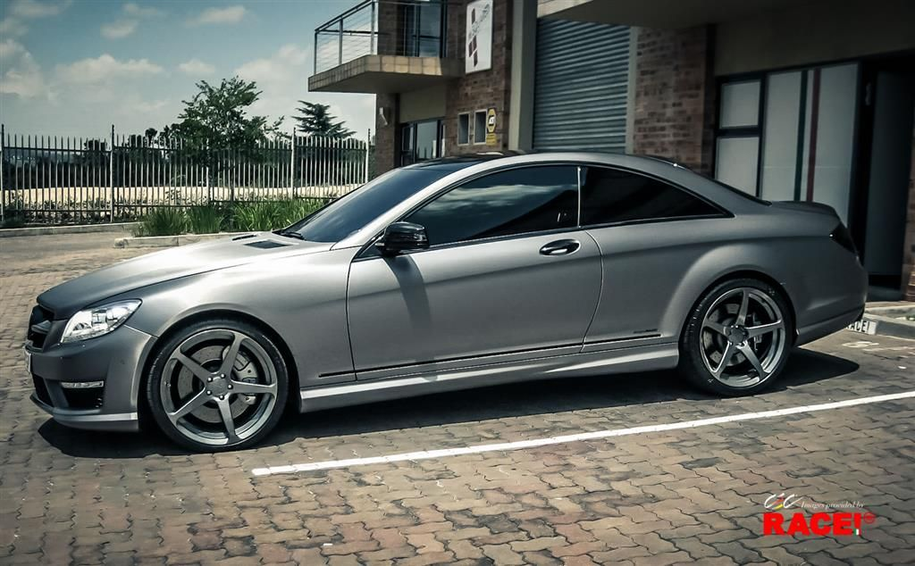 Mercedes Benz CL63 AMG With Custom Wheels By CEC In Los Angeles CA . Click