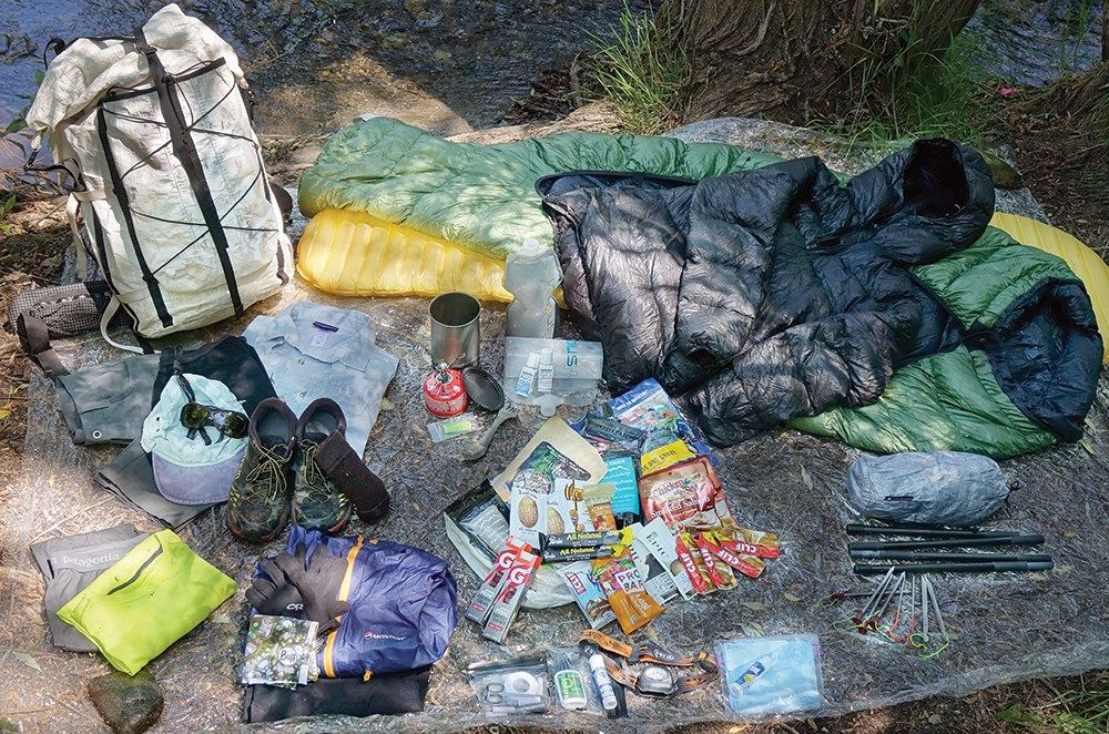 Whats in his pack gear planning tips from an ultralight advice from an ultra light backpacking expert before you pack for your next hike check out this gear planning advice from an expert ultralight backpacker mozeypictures Images
