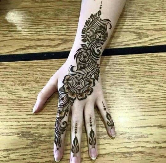 Beautiful Henna Designs 2018 For Hands Owsm Mehandi Designs