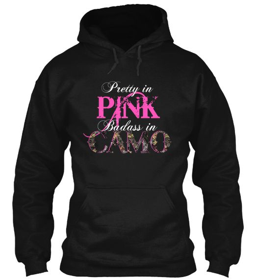 Hoodie Sweatshirt Women Country Southern Girls Hunt Pink Hunting Redneck Camo