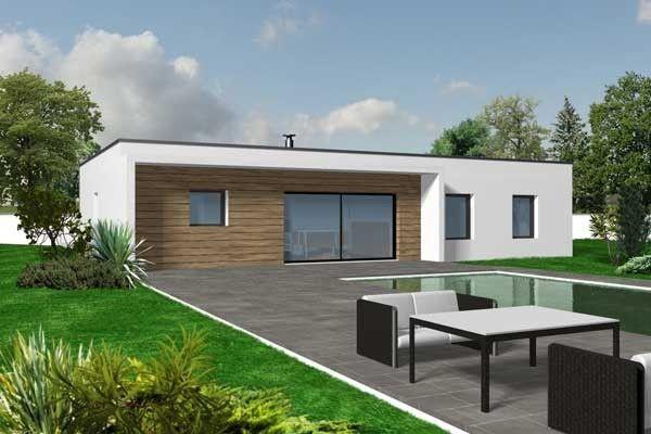 Plan Maison Toit Plat 100m2 maison Pinterest Construction and