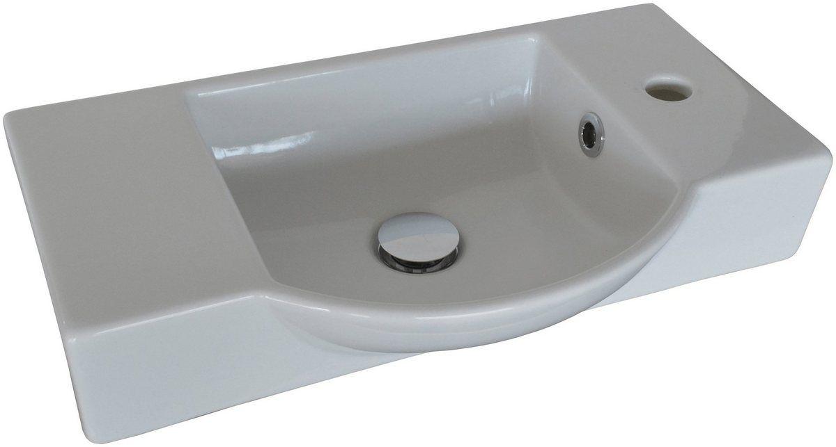 Waschbecken Gaste Wc Breite 54 5 Cm Fur Gaste Wc Keramik