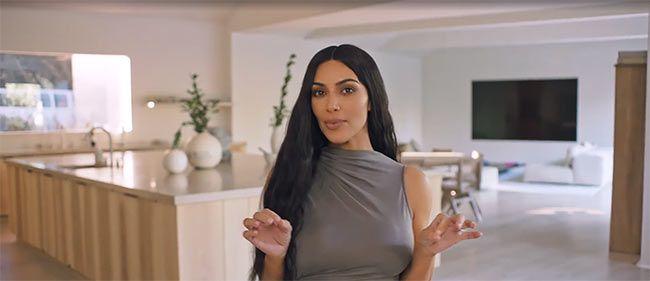 Kim Kardashian shares a tour of her unusual LA mansion #kimkardashianstyle