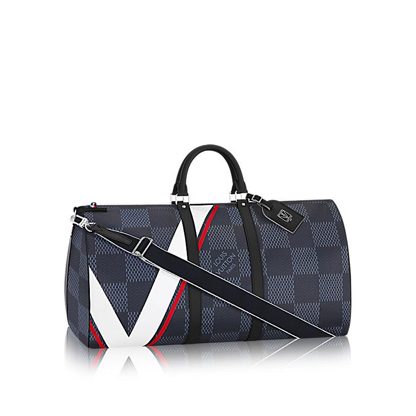 c391b79cb5fe KeepAll Bandoulière 55 Damier Cobalt LV Cup in MEN s AMERICA S CUP 2017  collections by Louis Vuitton