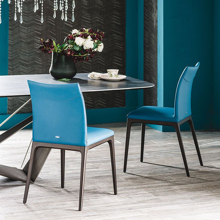 Sedie di design blu per sala da pranzo o cucina #sedia ...