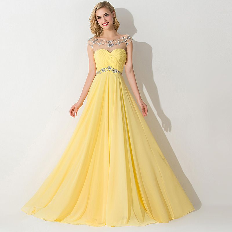 Výsledek obrázku pro yellow-red dress | Dresses | Pinterest