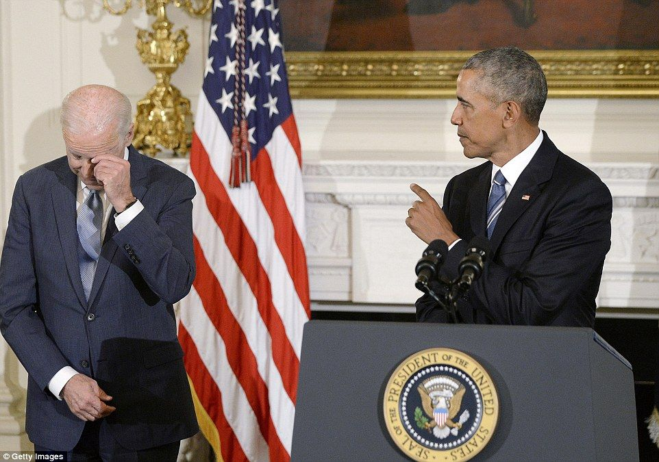 Obama Surprises Teary Biden With Presidential Medal Of Freedom
