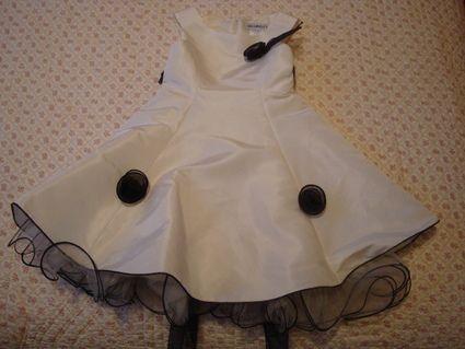 Robe cérémonie fille 4 ans