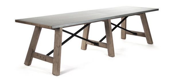 20 Gorgeous Extra Large Rectangular Dining Tables