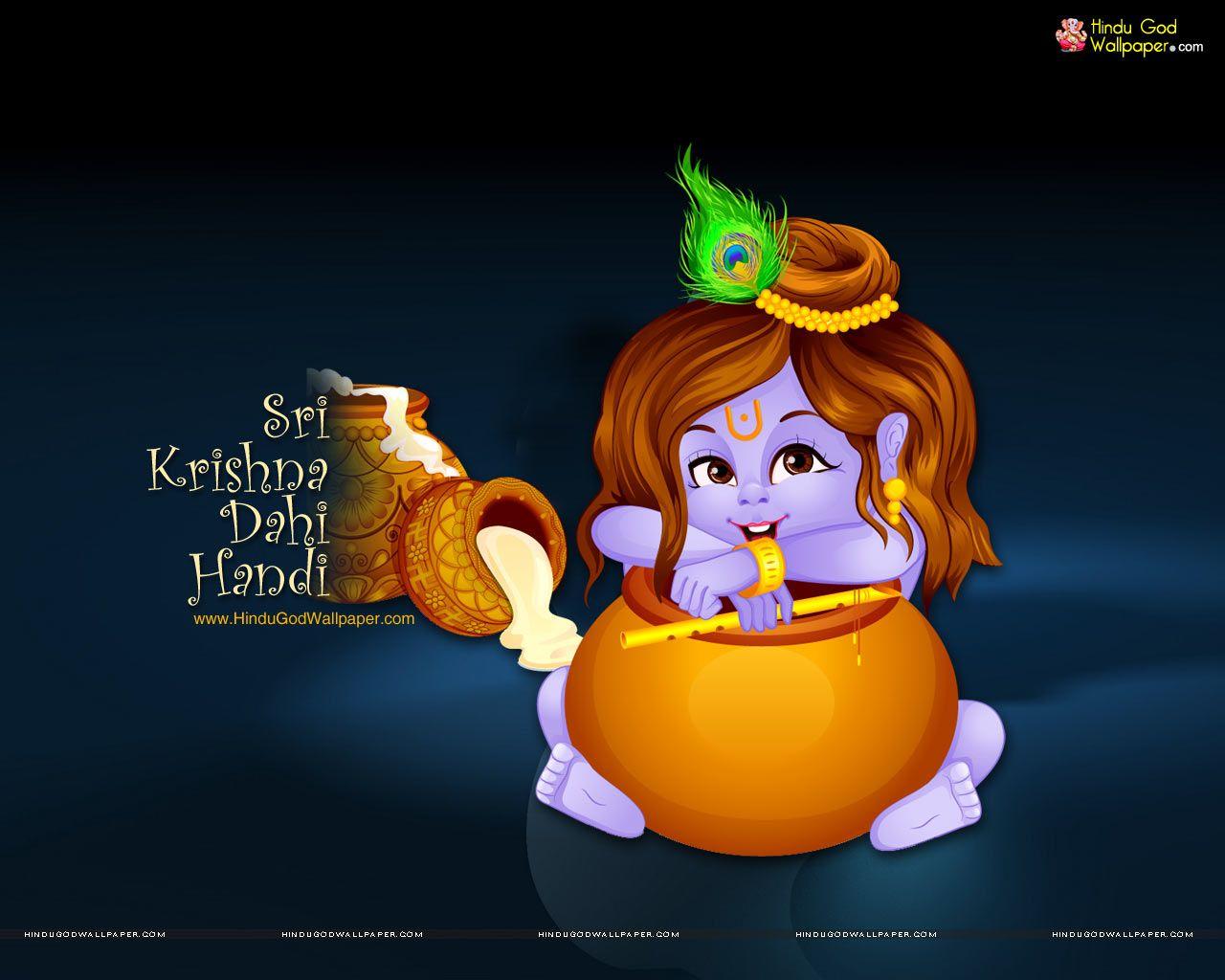 download krishna dahi handi