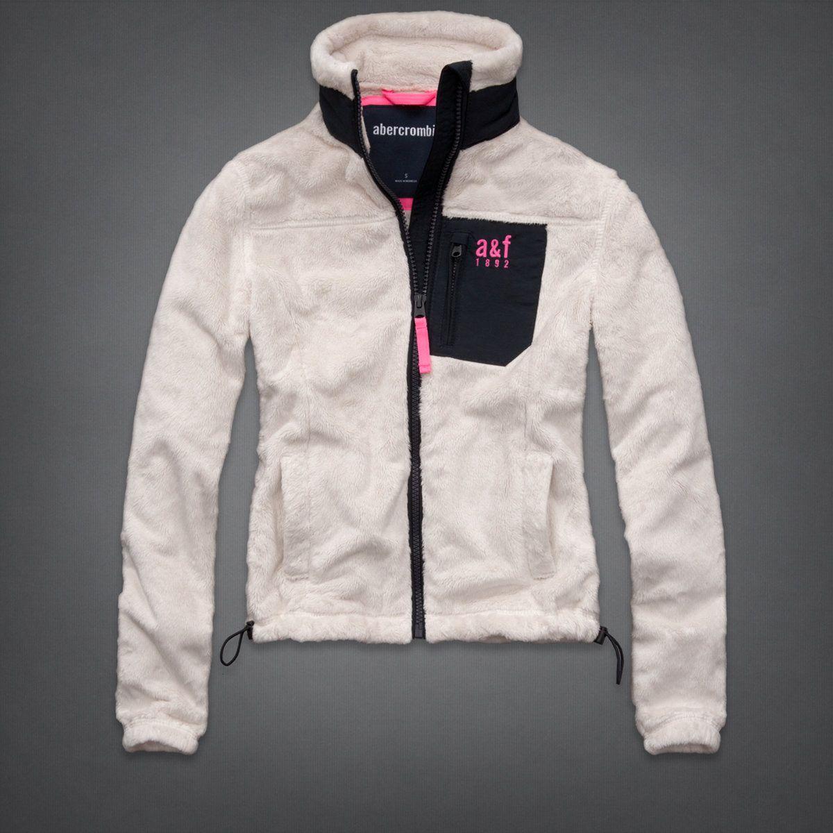 9d12e7553 abercrombie kids a f mountain fleece jacket in cream