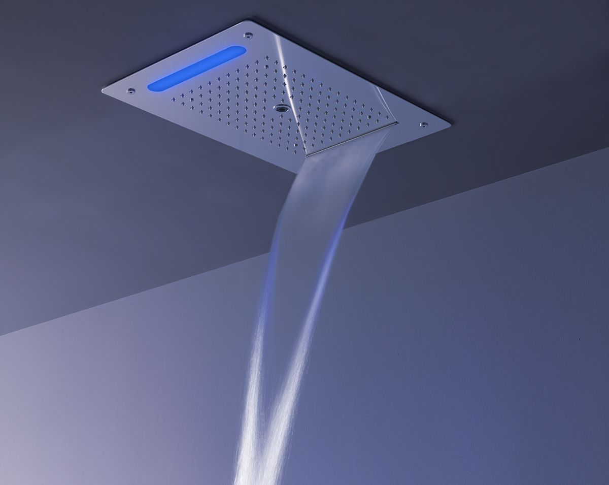 New Lounge shower heads with chromotherapy, relax and comfort for ...