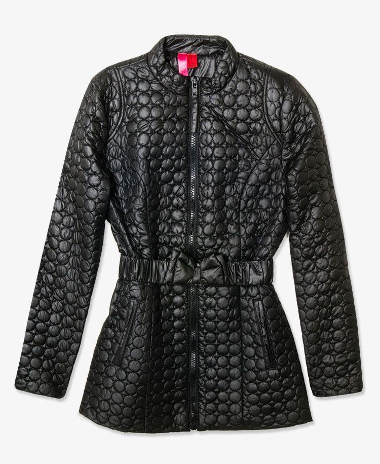 Bow Belt Puffer Jacket #30percentoff #f21outerwear