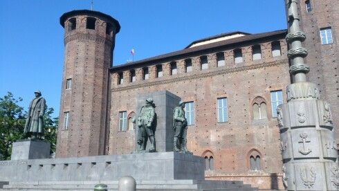 Piazza Castello, Torino, Piemonte