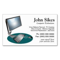 Pc repair computer technician business card pc repair and pc pc repair computer technician business card colourmoves