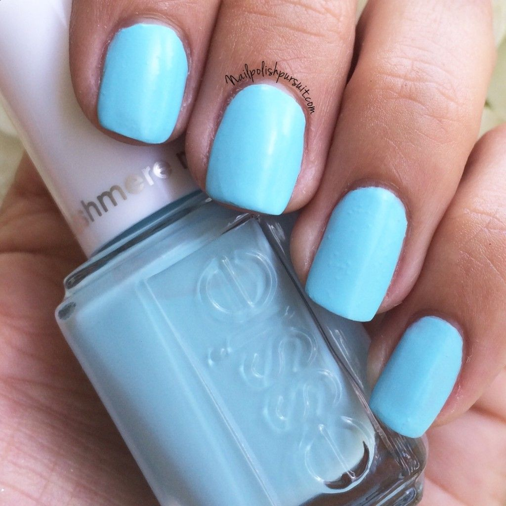 Sea the Sights from the essie 2015 Cashmere Matte Brights {exclusive ...