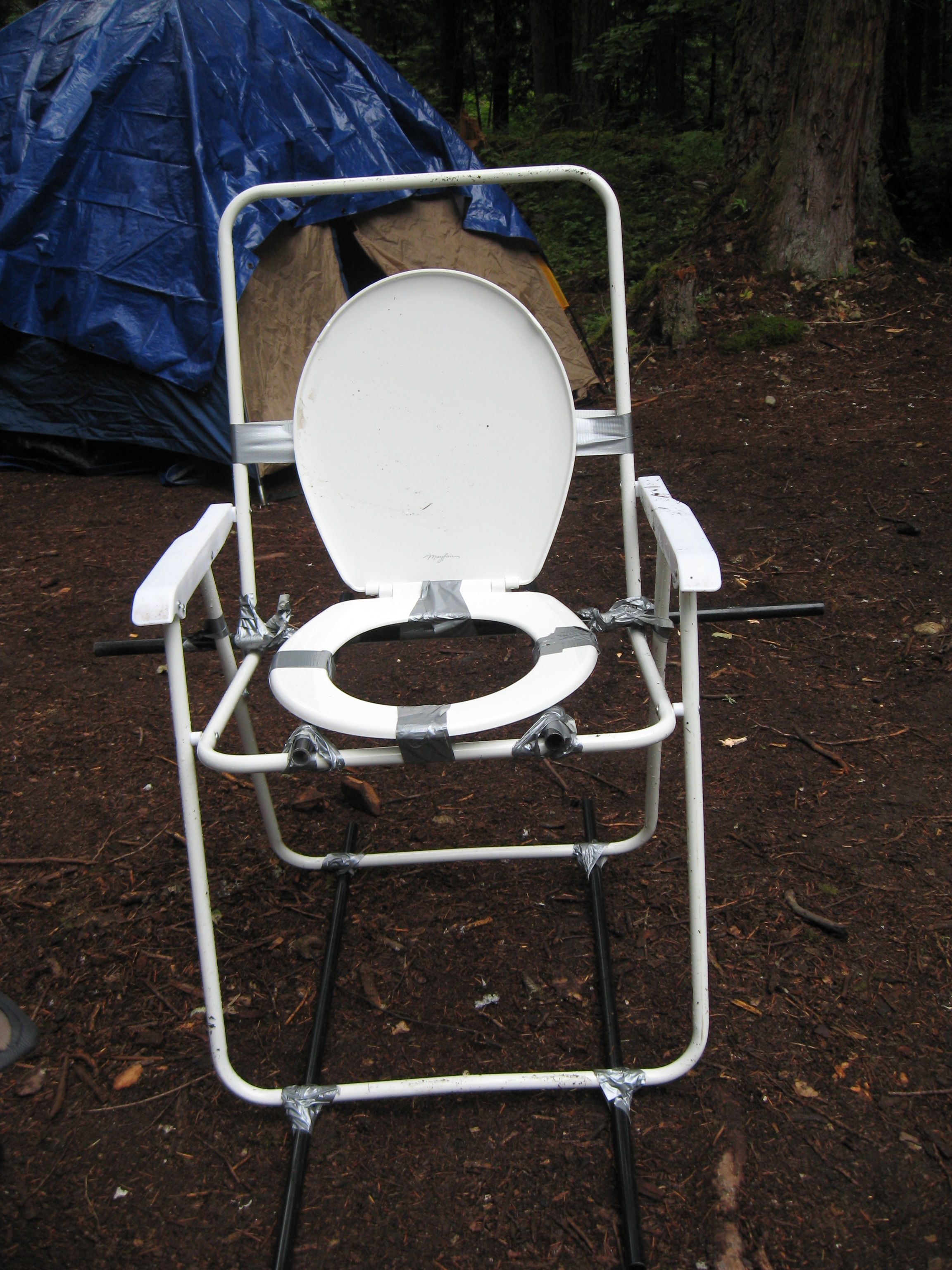 How to Make a Camping Toilet