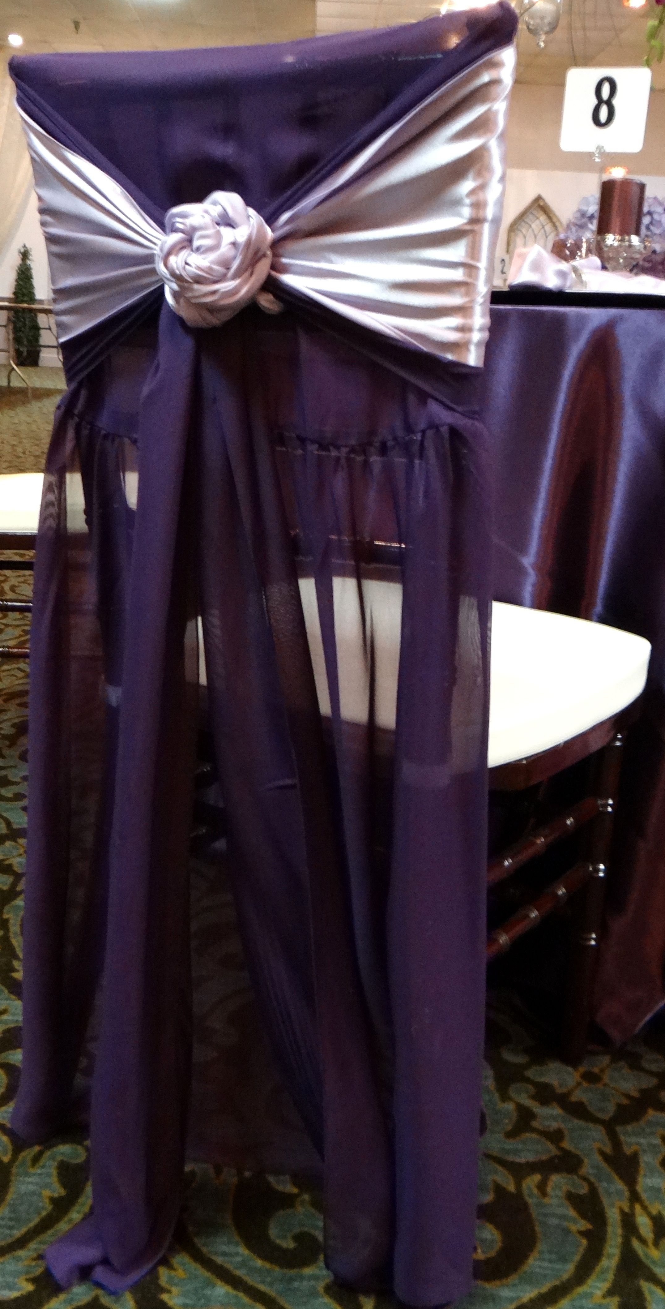 bride groom chair sash idea I DO Wedding Pinterest