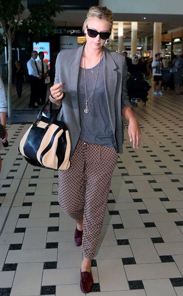 WHO:    Maria Sharapova  WHAT:    Chloé bag  WHERE:    Brisbane International Airport  WHEN:    January 4, 2013