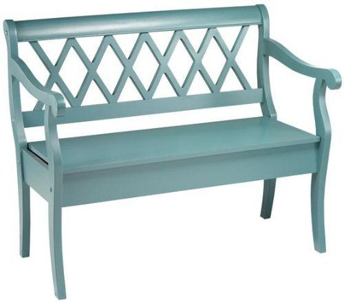 Cottage Bench, BENCH, TOTALLY TEAL Home Decorators